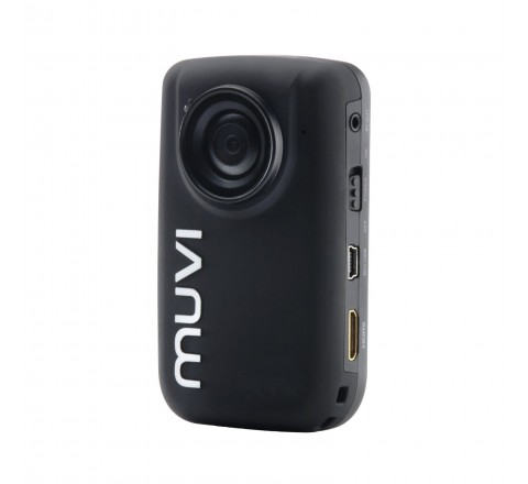 Veho MUVI HD10 Mini Handsfree Action Cam with Wireless Remote and Helmet Mounting Bracket (Black)