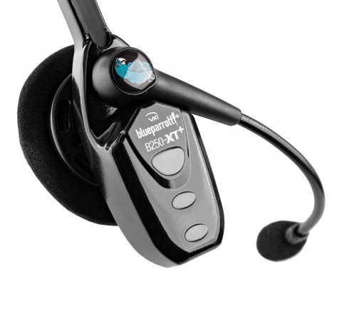 VXI BlueParrott B250-XT+ Noise Cancelling Bluetooth Headset (Black)