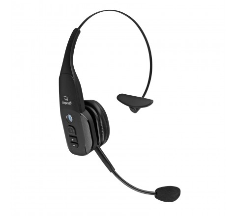 VXi BlueParrott B350-XT Wireless Bluetooth Headset with 95% Noise Cancellation (Black)
