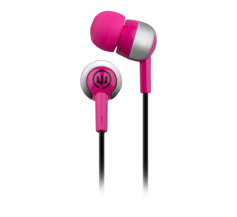 Wicked Audio Deuce In-Ear Headphones (Pink)