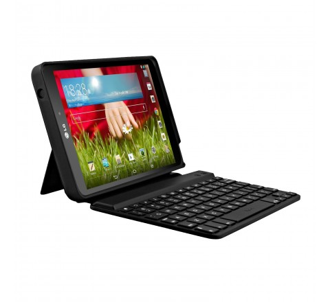 Zagg Folio Hinged Bluetooth Keyboard Case for LG GPAD 8.3 (Black)
