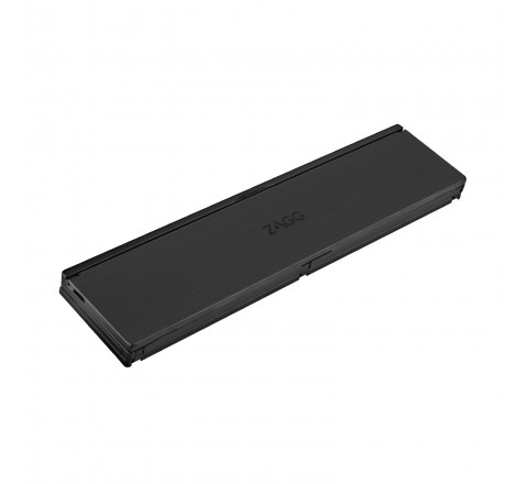 Zagg Pocket Foldable Wireless Bluetooth Keyboard for Apple and Android Phones and Tablets (Black)