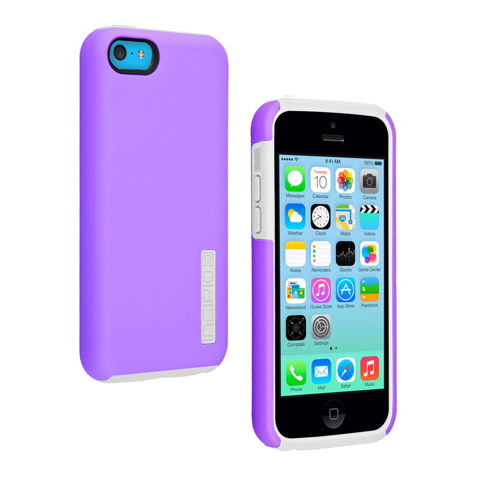 incipio dualpro dual layer protective case for apple iphone 5c. Black Bedroom Furniture Sets. Home Design Ideas