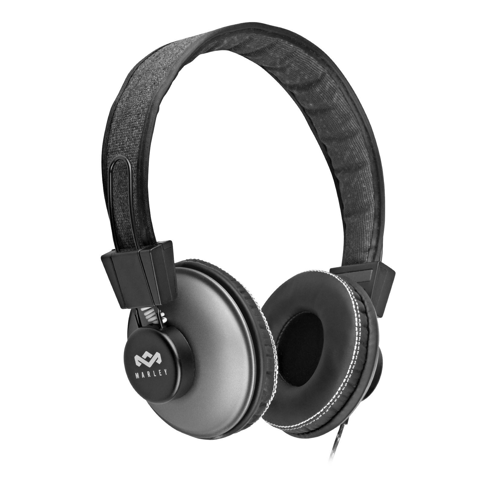 House of MarleyPositive Vibration On-Ear Headphones (Black) MAR-EM-JH013-PS-A2