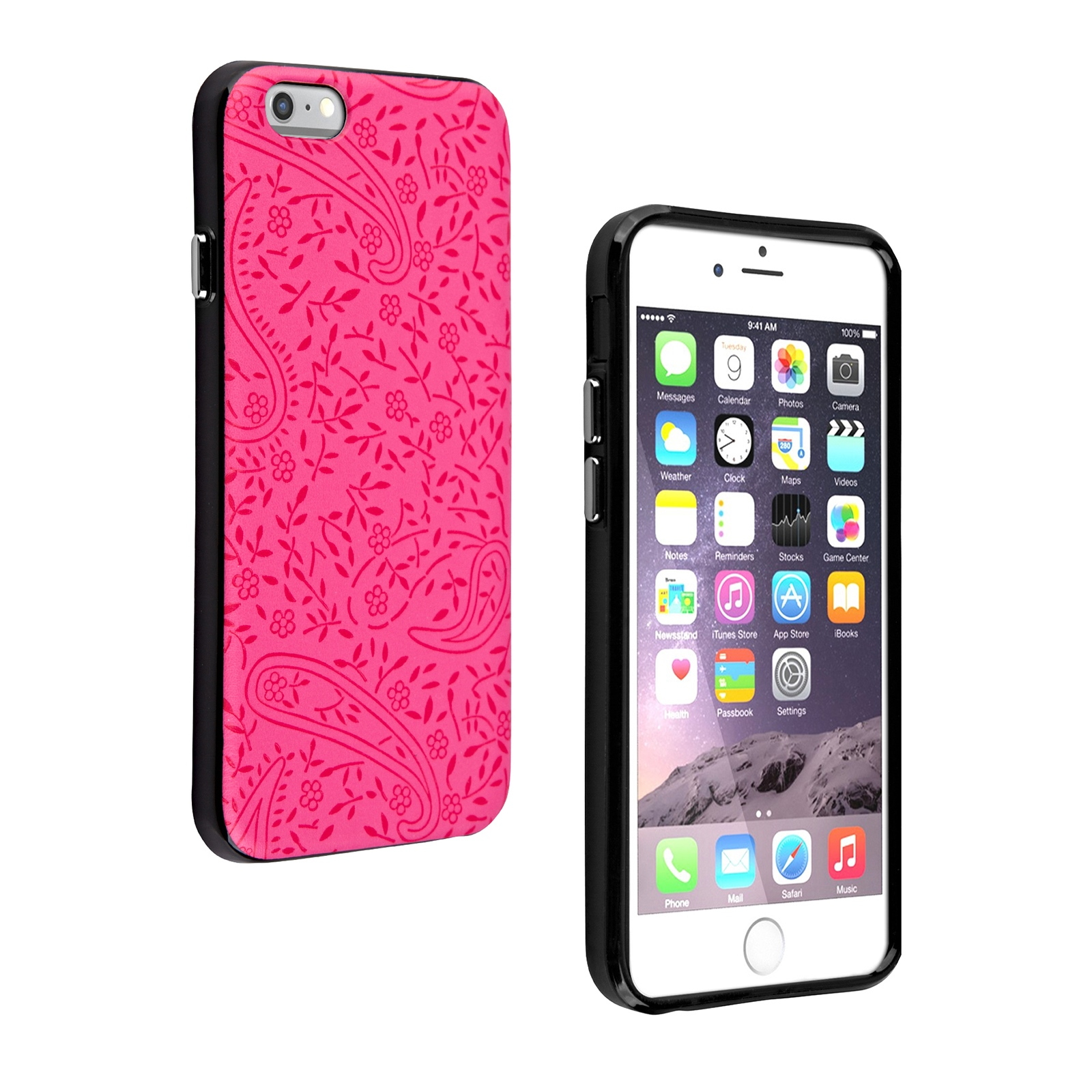 Milk and Honey Protective Case for iPhone 6/6s (Pink Paisley)