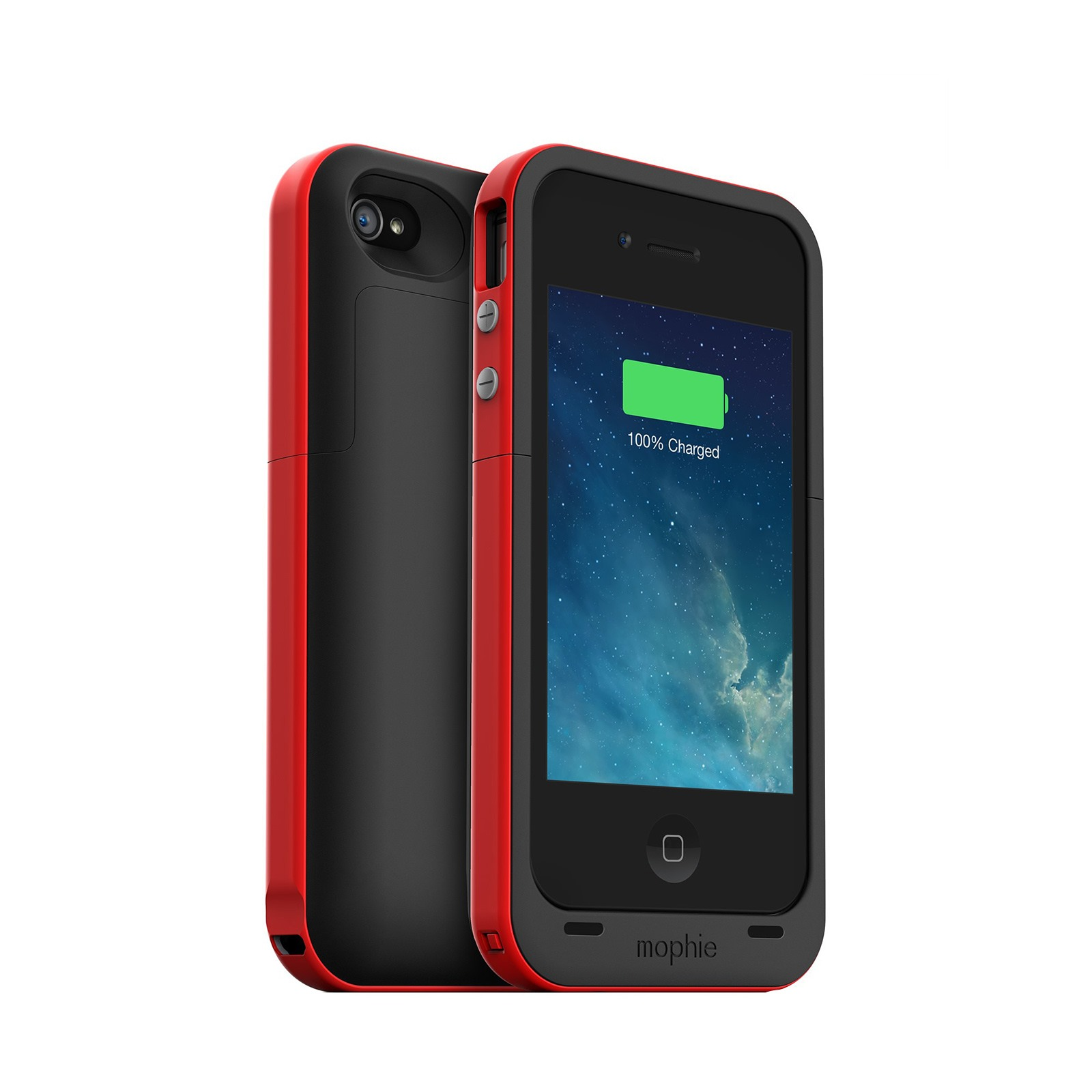 mophie juice pack plus recharegeable battery case for iphone 4s 4 2000 mah ebay. Black Bedroom Furniture Sets. Home Design Ideas