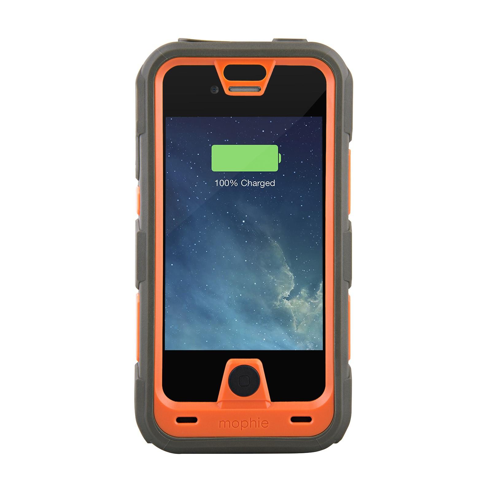 mophie juice pack pro rugged water resistant battery case for apple iphone 4s 4 ebay. Black Bedroom Furniture Sets. Home Design Ideas