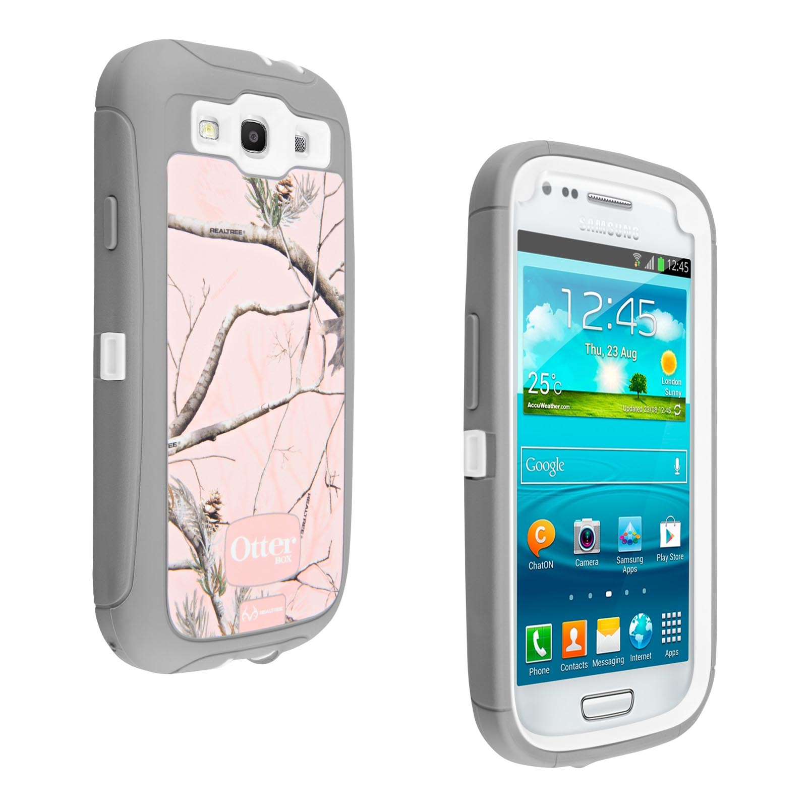 OtterBox Defender Series Case for Samsung Galaxy S III (Pink Camo)