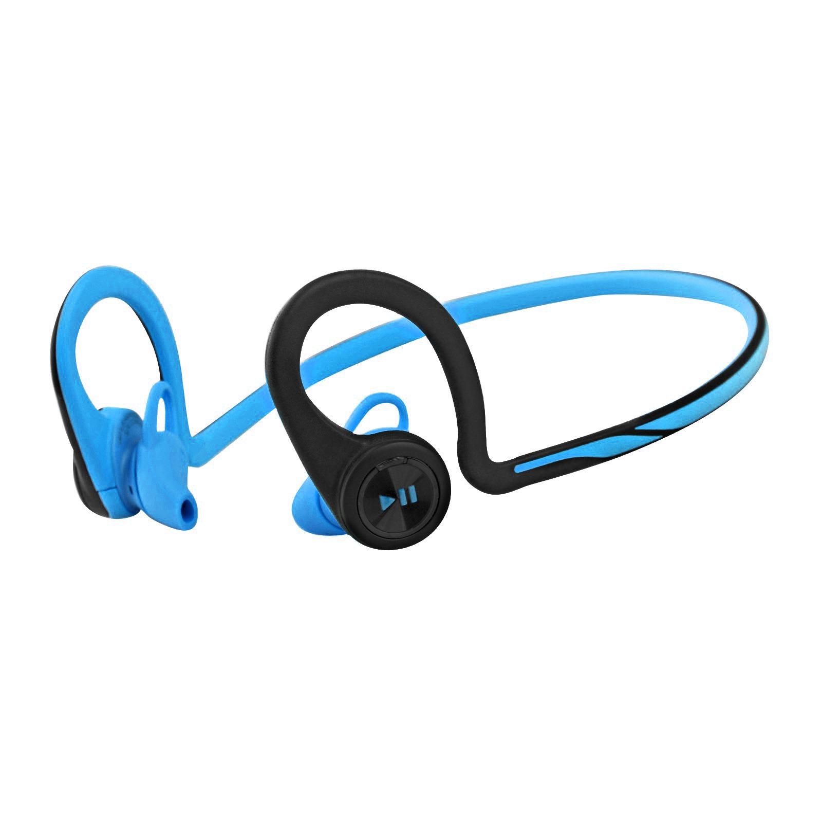 Plantronics Backbeat Fit Wireless Headphones and Microphone (Blue) PLA-BACKBEATFIT-BL-C1