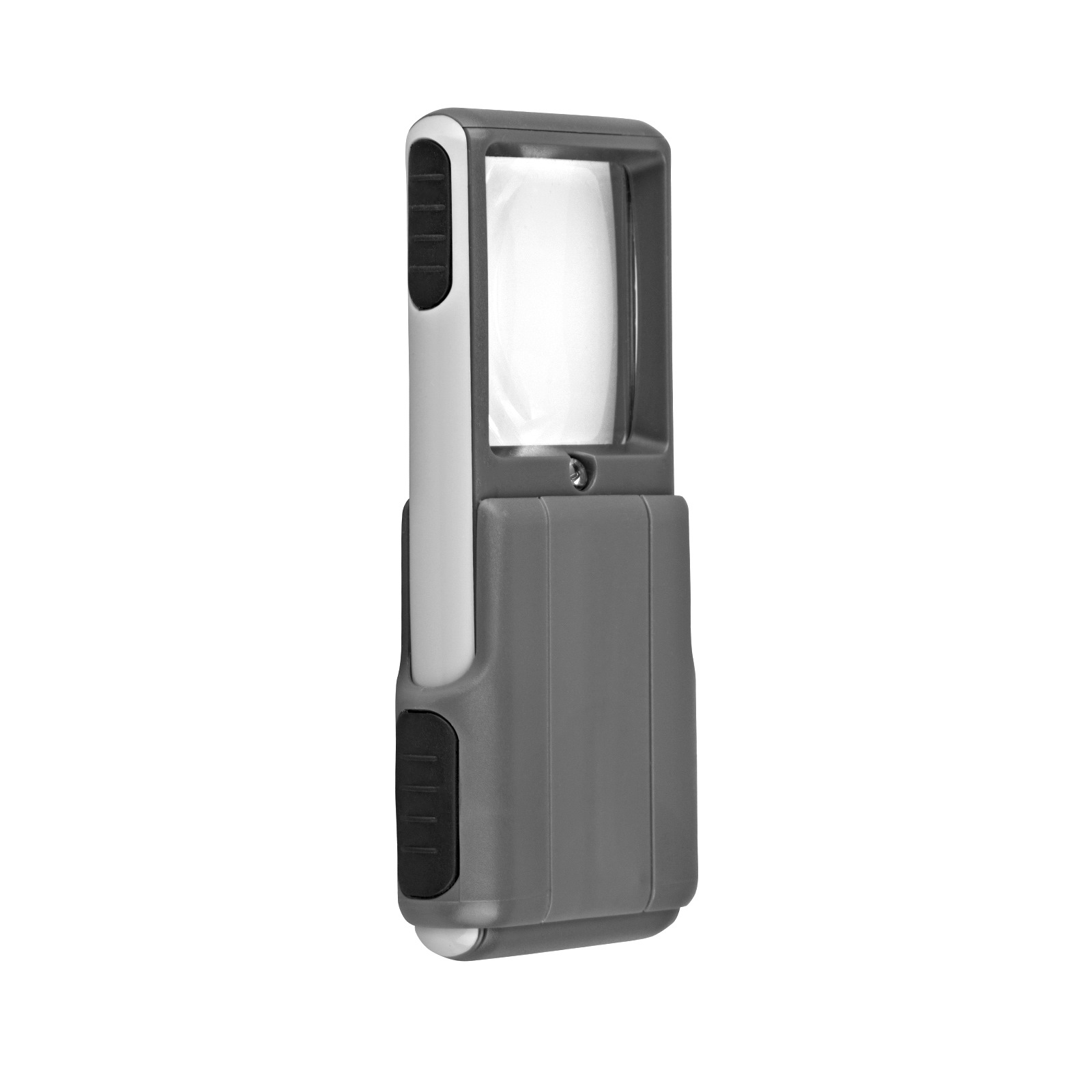 RadioShack Sliding Illuminated Magnifier (Gray)