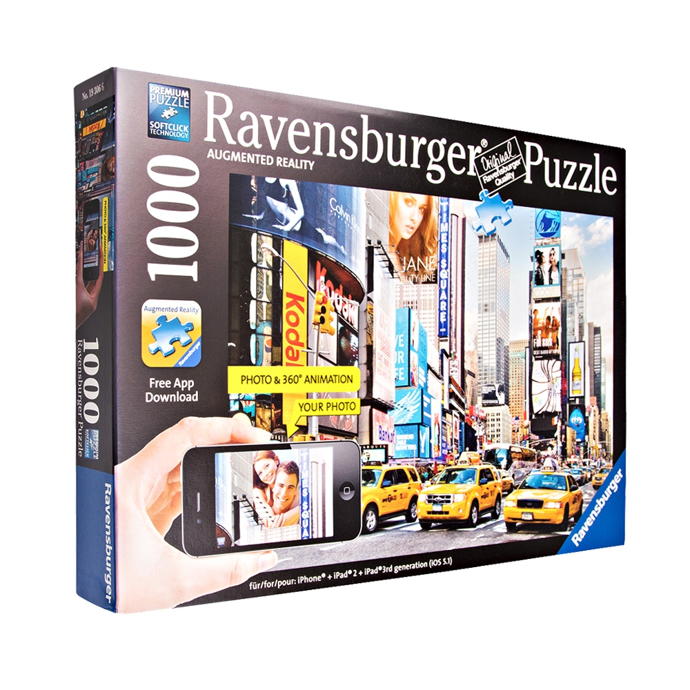 Ravensburger Colorful Activity At Times Square Puzzle RAV-193066-A1