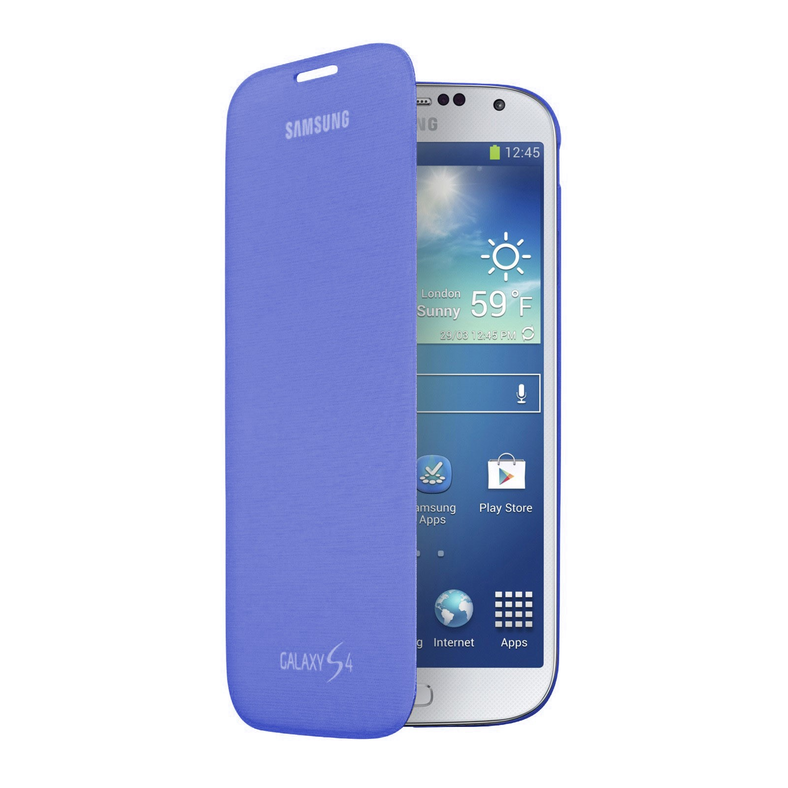 Samsung Flip Cover Case for Galaxy S4